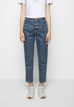 CLOSED - PEDAL PUSHER - Jeansy Slim Fit - mid blue wash