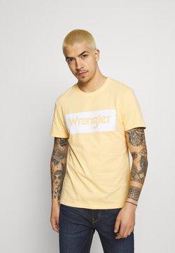 Wrangler - LOGO TEE - T-shirt z nadrukiem - lovely mango