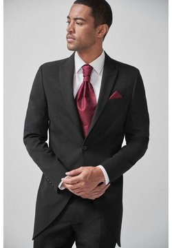Next - NAVY SLIM FIT MORNING SUIT JACKET - Giacca elegante - black