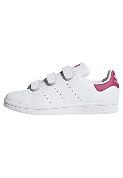 adidas Originals - STAN SMITH  - Sneaker low - footwear white/bold pink