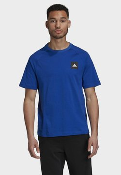adidas Performance - MUST HAVES - Camiseta básica - blue