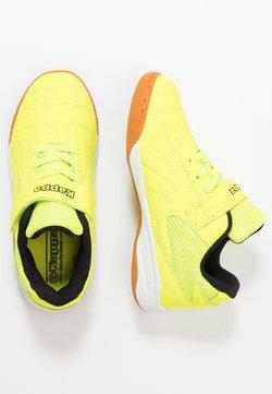 Kappa - FURBO UNISEX - Gym- & träningskor - yellow/black