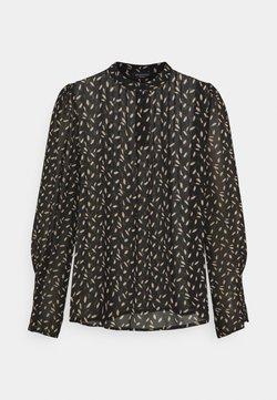 Selected Femme Petite - SLFLIVIA SHELLY  - Camisa - black