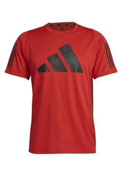 adidas Performance - Camiseta estampada - red