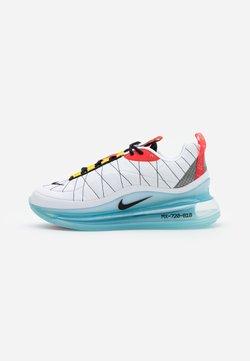 Nike Sportswear - MX-720-818 - Sneaker low - white/black/speed yellow/chile red/bleached aqua