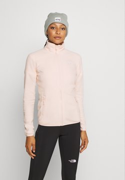 The North Face - WOMENS GLACIER FULL ZIP - Veste polaire - morning pink