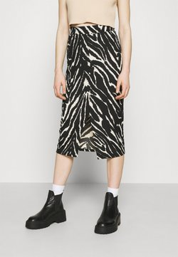 Monki - DOLLY SKIRT - Bleistiftrock - zebra