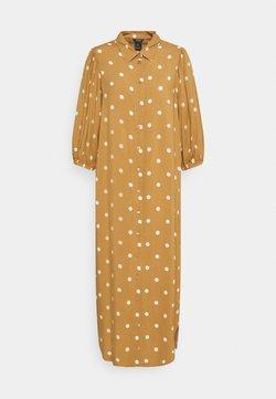 Lindex - DRESS GRETA - Blusenkleid - light brown