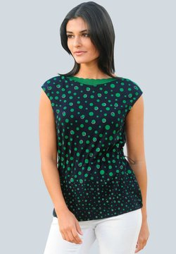 Alba Moda - Bluse - marineblau/grün