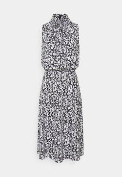 Lauren Ralph Lauren - FERIKO SLEEVELESS CASUAL DRESS - Freizeitkleid - black/white