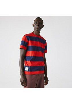 Lacoste - T-Shirt print - bleu rouge
