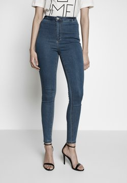 Missguided Tall - VICE HIGHWAISTED - Jeans Skinny Fit - stonewash
