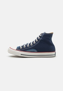 Converse - CHUCK TAYLOR ALL STAR UNISEX - Sneakers high - midnight navy/vintage white/garnet