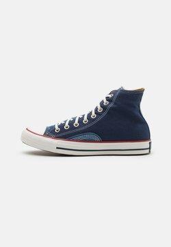 Converse - CHUCK TAYLOR ALL STAR UNISEX - High-top trainers - midnight navy/vintage white/garnet