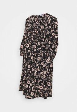Dorothy Perkins Maternity - SHIRRED FLORAL PRINT MINI DRESS - Freizeitkleid - multi