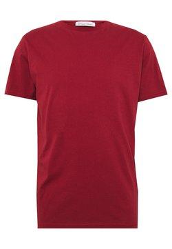 BY GARMENT MAKERS - UNISEX THE ORGANIC TEE - T-shirt basic - merlot
