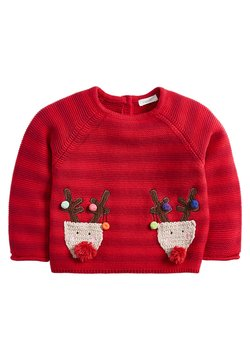 Next - REINDEER - Pullover - red