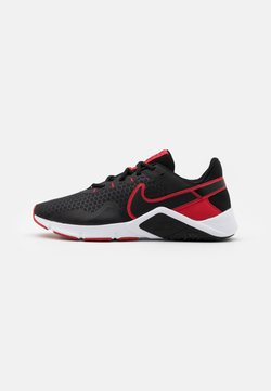 Nike Performance - LEGEND ESSENTIAL 2 - Sports shoes - black/university red/white