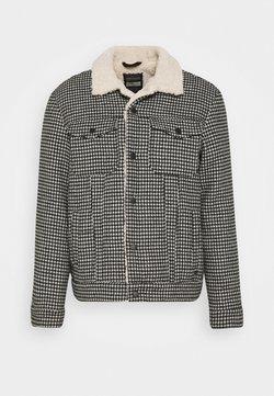 Scotch & Soda - HOUNDSTOOTH TRUCKER JACKET - Light jacket - combo a
