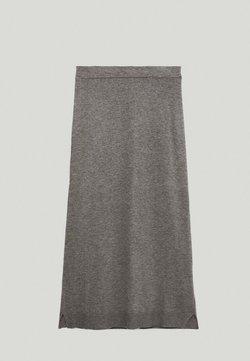 Massimo Dutti - A-Linien-Rock - dark grey