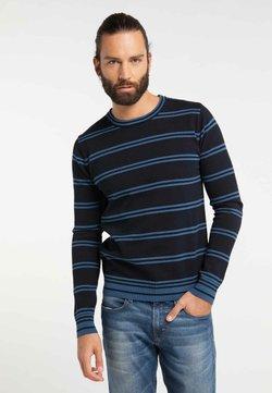 DreiMaster - Strickpullover - jeans blue
