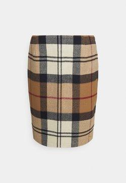 Barbour - NEBIT PENCIL SKIRT - Pencil skirt - hessian tartan
