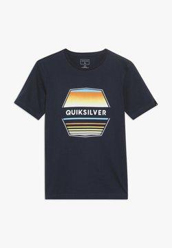 Quiksilver - DRIFT AWAY - T-shirt print - navy blazer