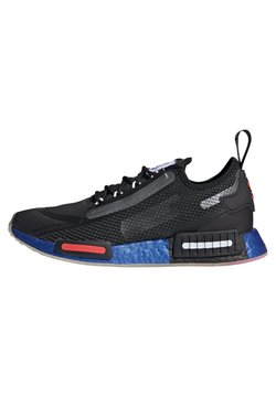 adidas Originals - NMD_R1 SPECTOO UNISEX - Sneakersy niskie - core black/solar red