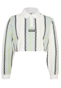 adidas Originals - Poloshirt - white/green tint