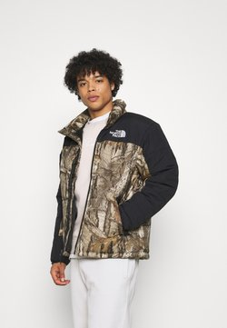 The North Face - HIMALAYAN INSULATED JACKET - Winterjacke - kelp tan forest floor
