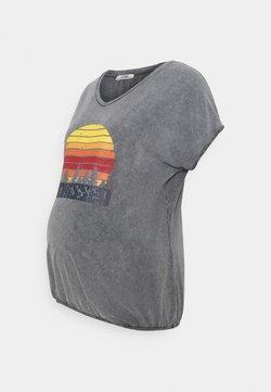 LOVE2WAIT - ELASTIC SUNKISSED - Camiseta estampada - anthracite