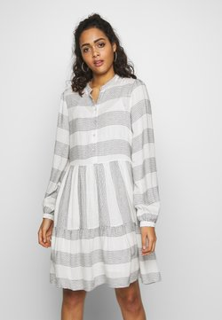 YAS - YASLAMALI DRESS - Blousejurk - eggnog/carbon