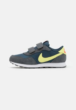 Nike Sportswear - VALIANT  - Sneakers laag - deep ocean/limelight/iron grey/bright crimson