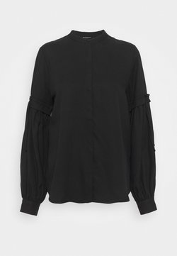 Bruuns Bazaar - PRALENZA CINE SHIRT - Chemisier - black