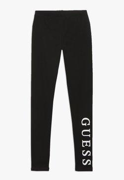 Guess - JUNIOR CORE - Leggings - Trousers - jet black