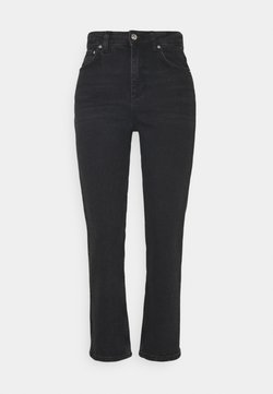 Gina Tricot - NEELA - Jeans straight leg - offblack