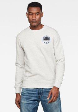 G-Star - CHEST LOGO GR - Sweatshirt - white htr