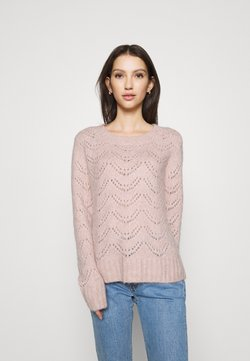Pieces - NOOS - Sweter - misty rose