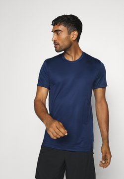 adidas Performance - HEAT.RDY TRAINING SLIM SHORT SLEEVE TEE - Camiseta estampada - tech indigo