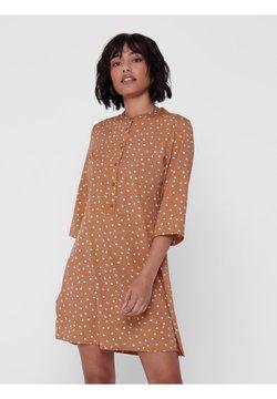 JDY - Vestido camisero - brown