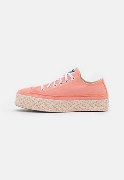 Converse - CHUCK TAYLOR ALL STAR PLATFORM - Matalavartiset tennarit - pink quartz/white/natural ivory