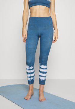 L'urv - DRIFT AWAY 7/8 LEGGING - Medias - sky