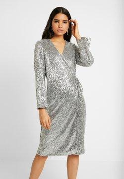 Monki - SANDRA DRESS - Cocktailjurk - silver