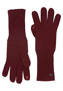 Esprit - BASIC  - Fingerhandschuh - bordeaux red