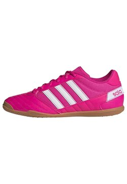 adidas Performance - SUPER SALA - Indoor football boots - shopnk/ftwwht/shopnk