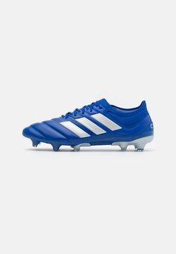 adidas Performance - COPA 20.1 FOOTBALL FIRM GROUND - Chaussures de foot à crampons - royal blue/silver metallic