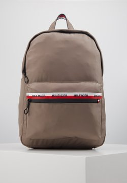 Tommy Hilfiger - URBAN BACKPACK - Reppu - grey