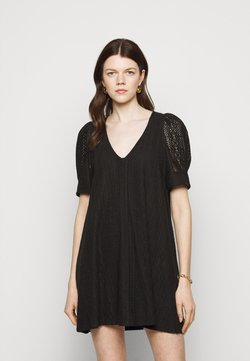 Dondup - Vestido de punto - black