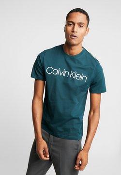 Calvin Klein - FRONT LOGO - T-shirt print - green