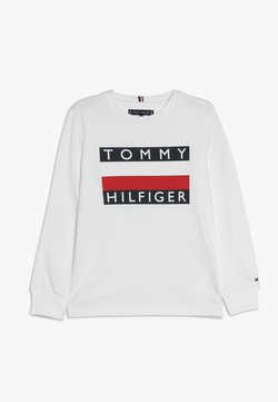 Tommy Hilfiger - ESSENTIAL TEE - Langarmshirt - white